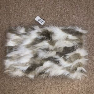 NWT EXPRESS Faux Fur Cowl Scarf